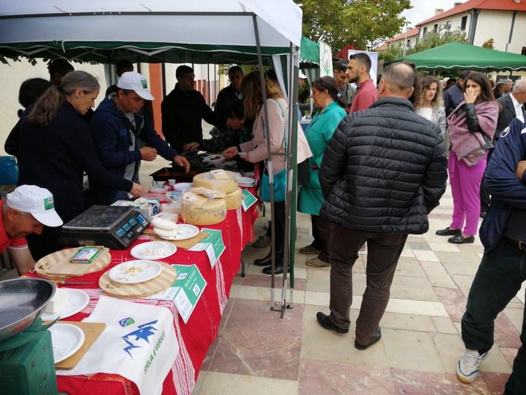 """Cheese brand """"Shija e veriut"""" in Puka Fair"""