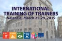 The Training of Trainers in Valencia starts on Monday the 25th of March