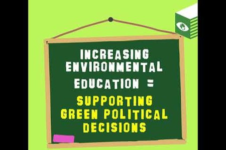 Make climate change education first at all society levels