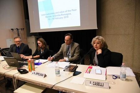 5th Monitoring Board meeting, in Emilia-Romagna