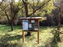 """Rio Lavezza board located into """"Fola Park"""", Albinea"""