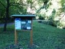 The board located near Quattro Castella