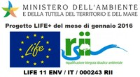 "LIFE RII chosen as ""Project of the month"""