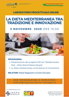 Online workshop about Mediterranean Diet
