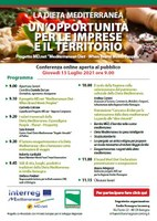 The Mediterranean Diet - An opportunity for businesses and the local area
