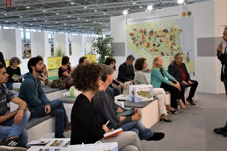 MD.net at Sana, Organic Salon (Bologna 9/9/19). The Regional Councilor for Tourism, Andrea Corsini