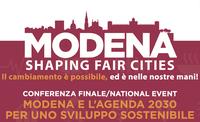 Modena e l'Agenda 2030, conferenza finale