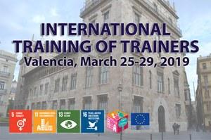 Al via lunedì 25 marzo il Training of Trainers di Valencia