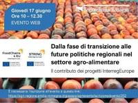 I progetti String e FoodChains4Eu e il loro contributo alle politiche agricole regionali