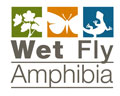 logo Wet Fly anphibia