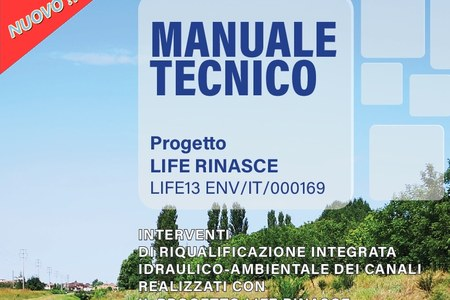 Disponibile on line il Manuale Tecnico di LIFE RINASCE