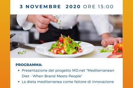 Laboratorio progettuale online sulla Dieta Mediterranea