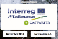 On line la Newsletter n. 4 del progetto Castwater