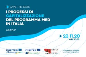 La capitalizzazione dei progetti MED in Italia