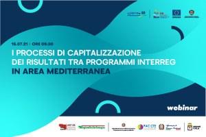 I processi di capitalizzazione dei risultati tra Programmi Interreg in area mediterranea