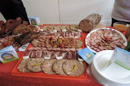 La cooperativa EVA espone i suoi prodotti alla fiera Slow Food a Tirana
