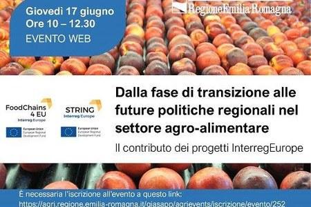 Il contributo alle politiche agricole regionali dei progetti String e FoodChains4Eu